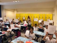 5. Sınıf Öğrencilerimiz Oryantasyon Etkinliğinde
