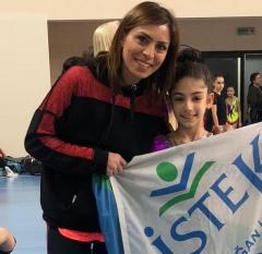 Ritmik Cimnastik'te İstanbul Derecesi