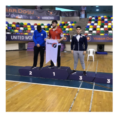 Gençler Güreş Yarışmalarında Üçüncülük Kazandık